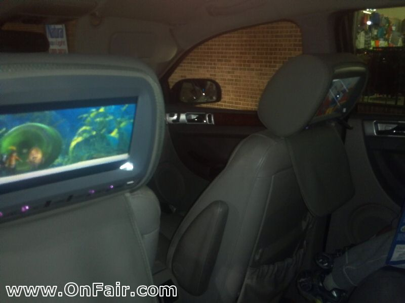 2004 Chrysler Pacifica Headrest Monitor Review d headrest dvd player install & review in chrysler pacifica how to wire headrest dvd player to fuse box at reclaimingppi.co
