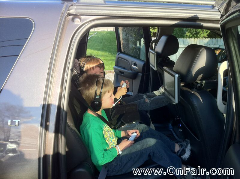 2010 Chevy Suburban Headrest Dvd Player Install Review