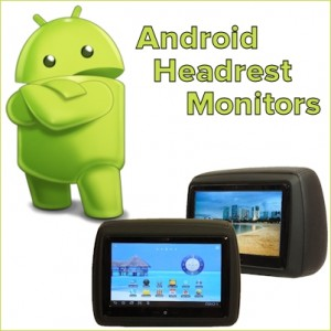 Android Headrest DVD Players