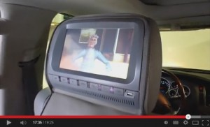 Car Headrest DVD Player Install in a Toyota Tundra