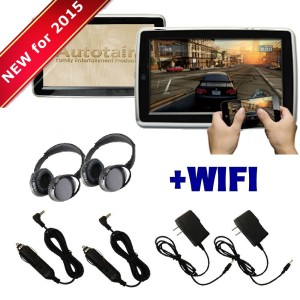 wifi active headrest dvd players