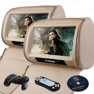 cheap xtrons headrest dvd player monitor